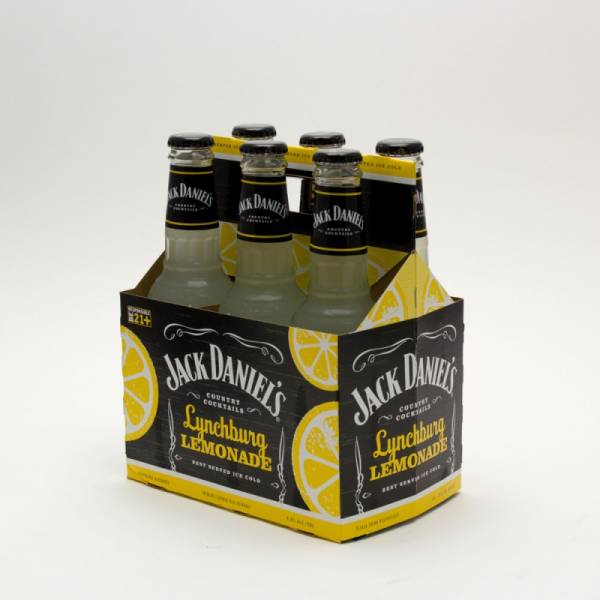 Jack Daniel's - Lynchburg Hard Lemonade - 10oz Bottle - 6 Pack