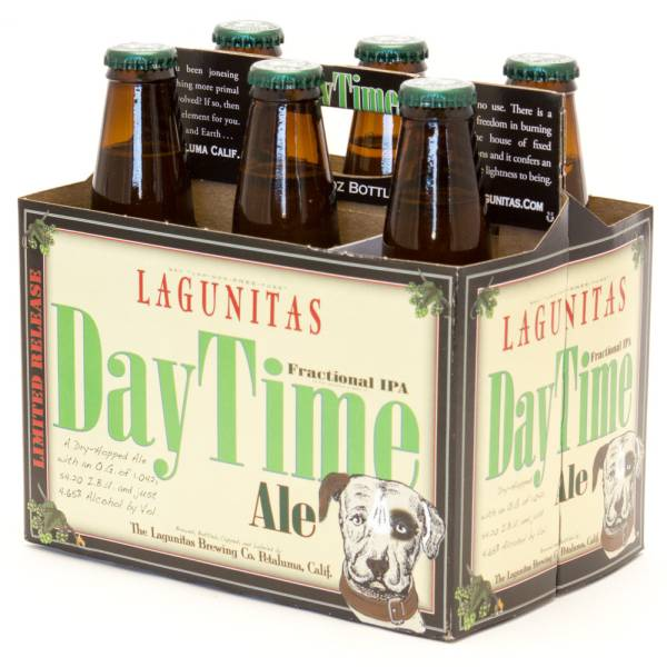 Lagunitas - Day Time Ale Fractional IPA - 12oz Bottle - 6 Pack