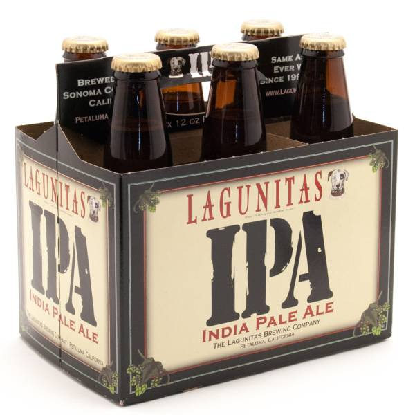 Lagunitas - IPA India Pale Ale - 12oz Bottle - 6 Pack