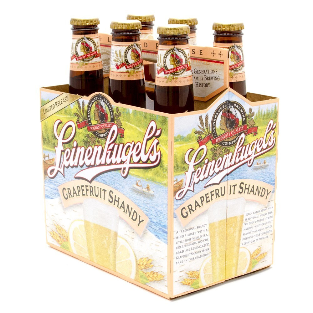 Leinenkugel's - Grapefruit Shandy - 12oz Bottle - 6 Pack