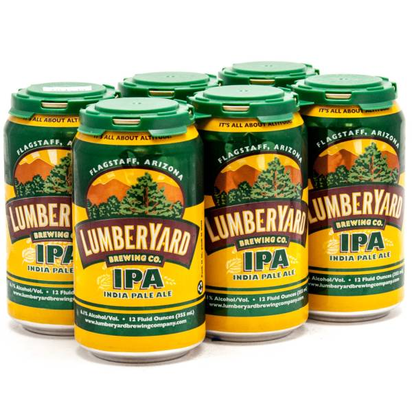 Lumberyard Brewing Company - India Pale Ale - 12oz Can - 6 Pack