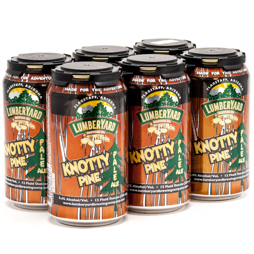 Lumberyard Brewing Company - Knotty Pine Pale Ale - 12oz Can - 6 Pack