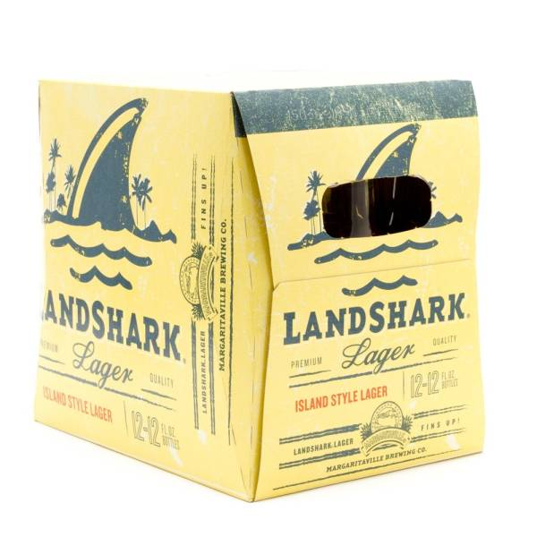Margaritaville - Landshark Lager - 12oz Bottle - 12 Pack