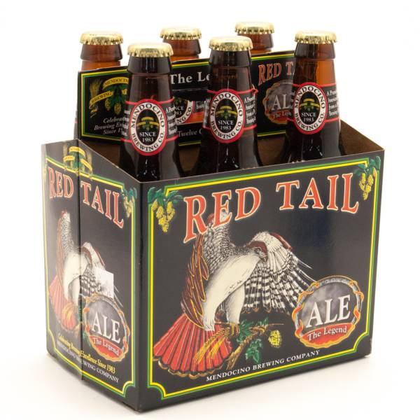 Mendocino - Red TailAle - 12oz Bottle - 6 Pack