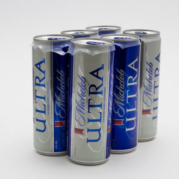 Michelob Ultra 12oz Slim Can 6 Pack Beer Wine And