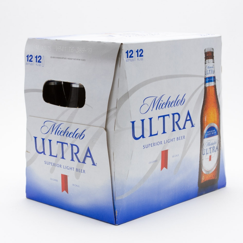 Michelob Ultra - Light Beer - 12oz Bottle - 12 Pack