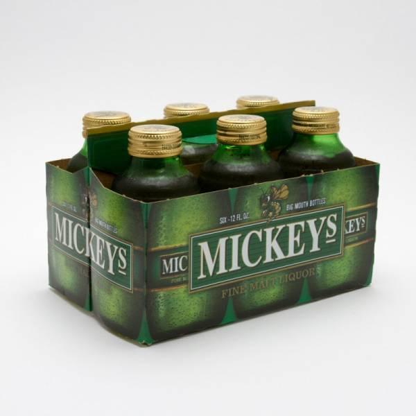 Mickeys - Fine Malt Liquor - 12oz Bottle - 6 Pack