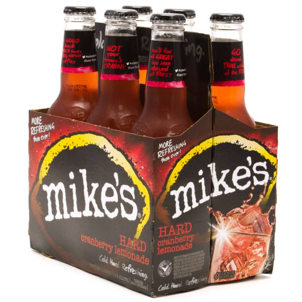 Mike's Hard Lemonade - Hard Cranberry Lemonade - 12oz Bottle - 6 Pack