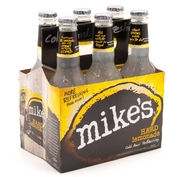 Mike's Hard Lemonade - Hard Lemonade - 11.2oz Bottle - 6 Pack