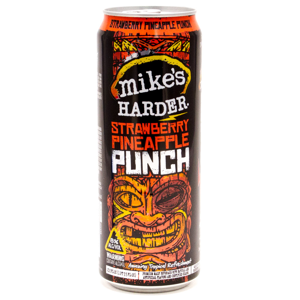 Mike's Hard Lemonade - Harder Strawberry Pineapple Punch - 23.5oz Can