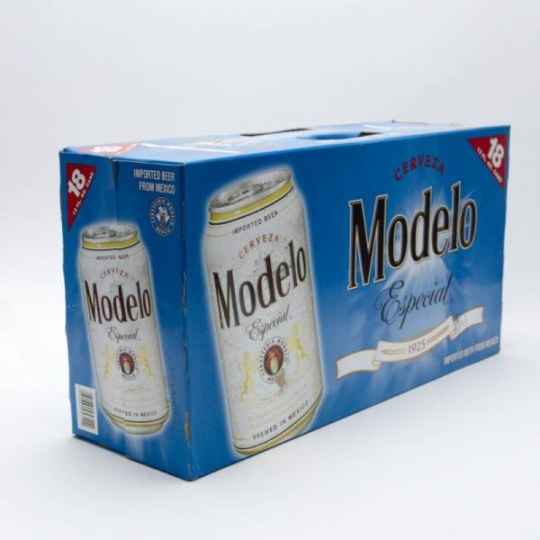 Modelo Especial - Imported Beer - 12oz Can - 18 Pack