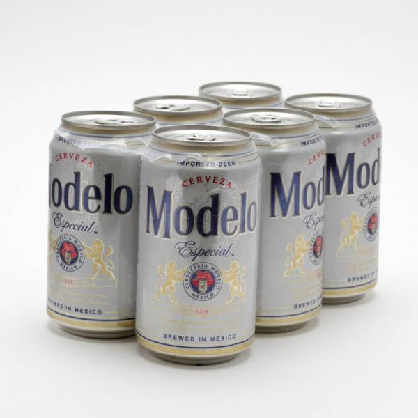 Modelo Especial - Imported Beer - 12oz Can - 6 Pack
