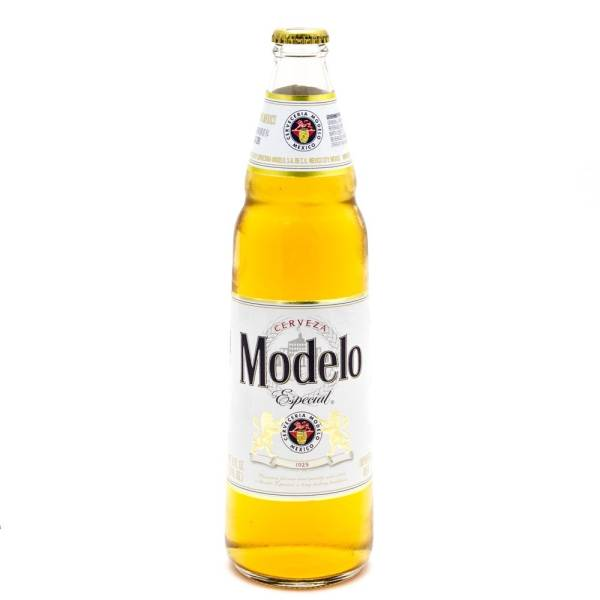 Modelo Especial - Imported Beer - 24oz Bottle