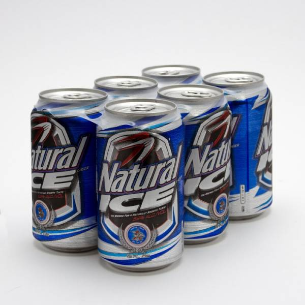 Natural Ice - Beer - 12oz Can - 6 Pack