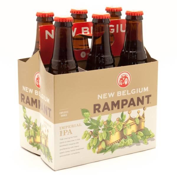 New Belgium - Rampant Imperial IPA - 12oz Bottle - 6 Pack