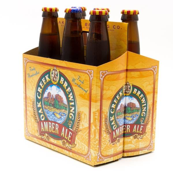 Oak Creek Brewing Co - Amber Ale - 12oz Bottle - 6 Pack