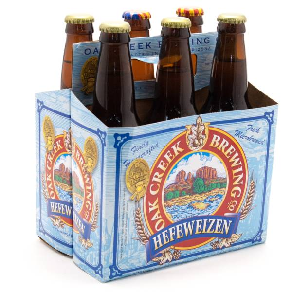 Oak Creek Brewing Co - Hefeweizen - 12oz Bottle - 6 Pack