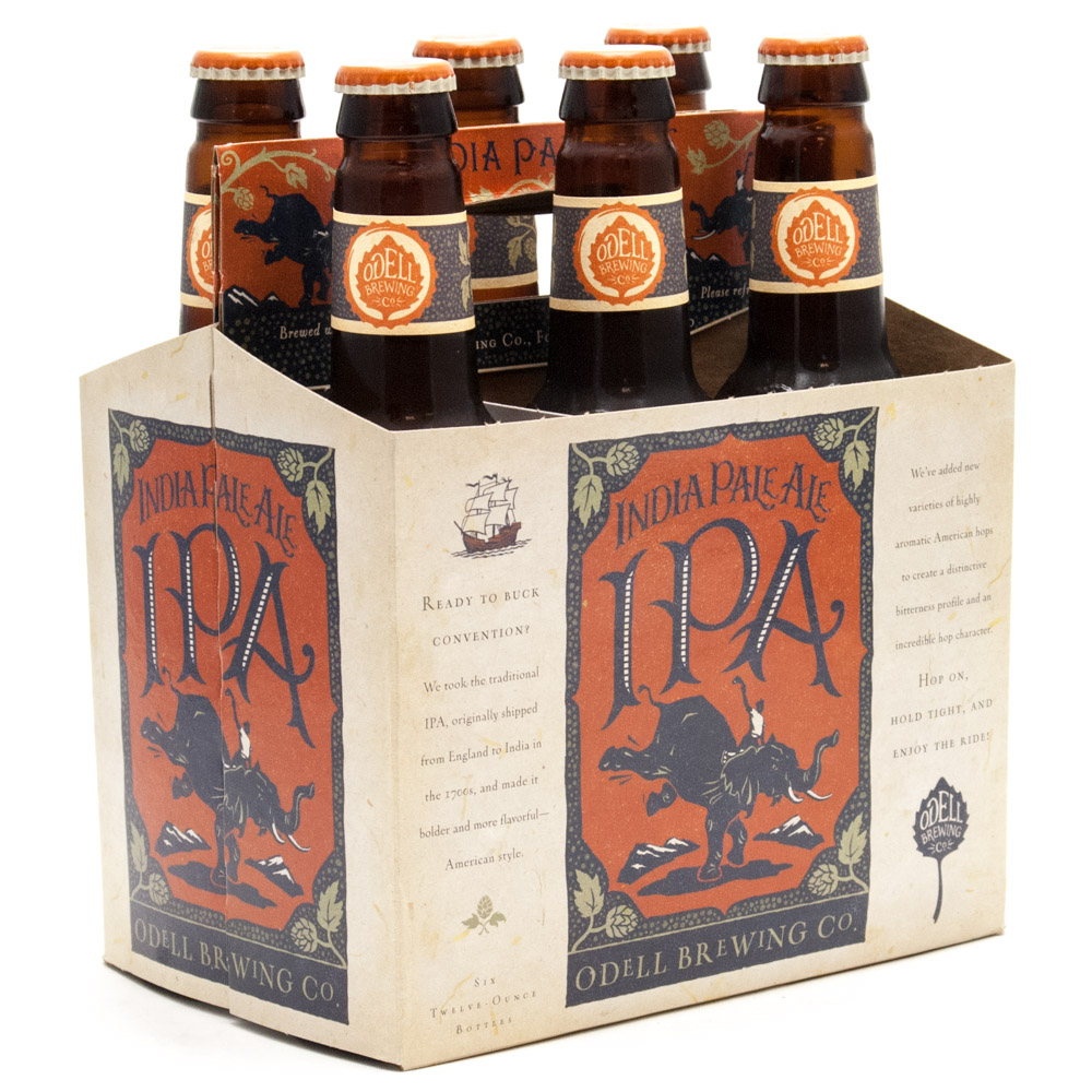 Odell Brewing Co - IPA - 12oz Bottle - 6 pack