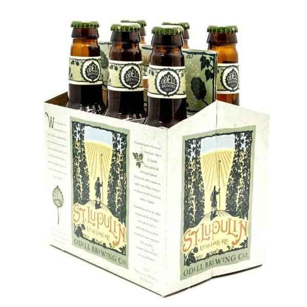 Odell Brewing Co - St. Lupulin Extra Pale Ale - 12oz Bottles - 6 pack