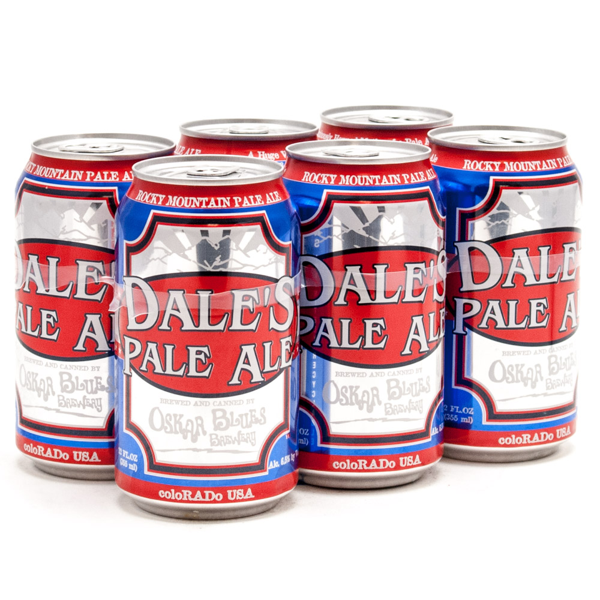 Oskar Blues - Dale's Pale Ale - 12oz Can - 6 Pack