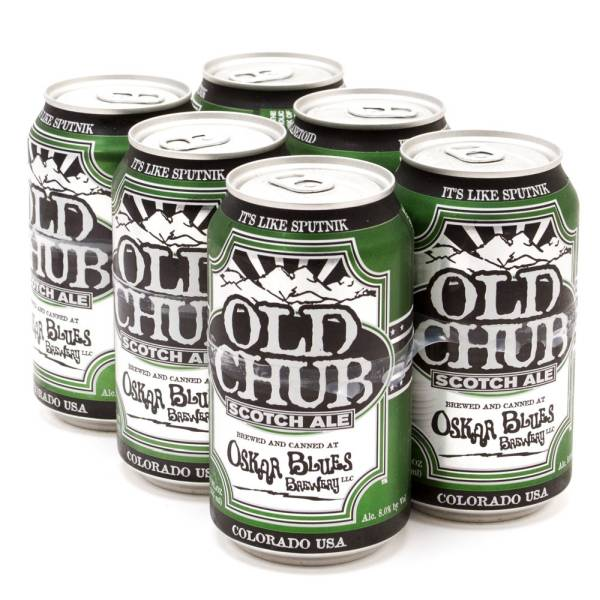 Oskar Blues - Old Chub - Scotch Ale - 12oz Can - 6 Pack