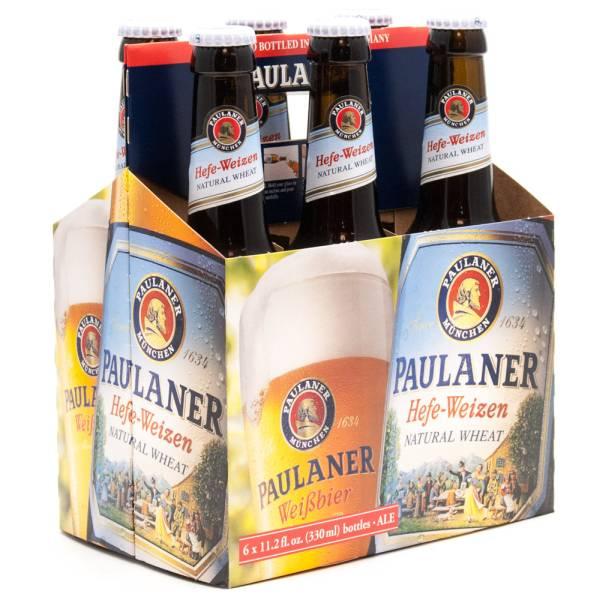 Paulaner - Hefe-Weizen Natural Wheat Beer - 11.2oz Bottle - 6 Pack