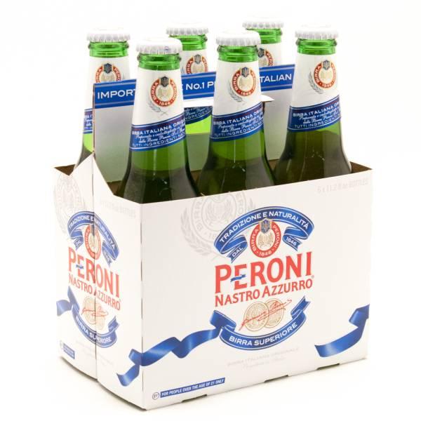 Peroni - Nastro Azzurro - 12oz Bottle - 6 Pack