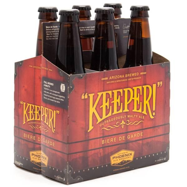 The Phoenix Ale Brewery - Keeper Biere De Garde - 12oz Bottle - 6 Pack