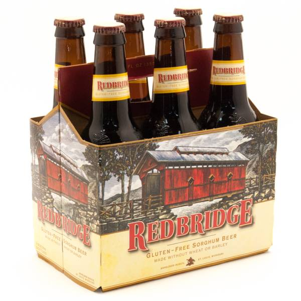 Red Bridge - Gluten-Free - Sorghum Beer - 12oz Bottle - 6 Pack