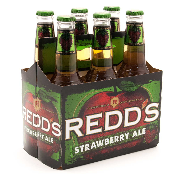 Redd's - Strawberry Ale - 12oz Bottle - 6 Pack