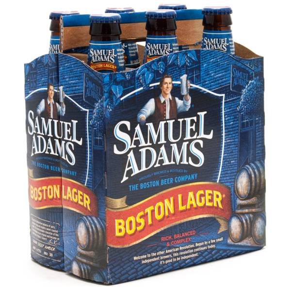 Sam Adams - Boston Lager - 12oz Bottle - 6 Pack