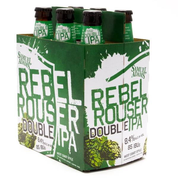 Sam Adams - Rebel Rouser - Double IPA - 12oz Bottle - 6 Pack