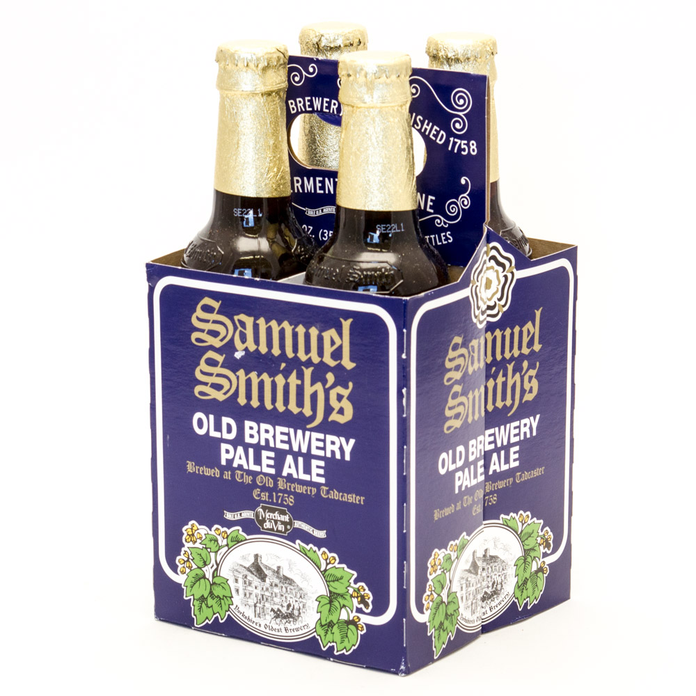 Samuel Smith - Old Brewery Pale Ale - 12oz Bottle - 4 Pack