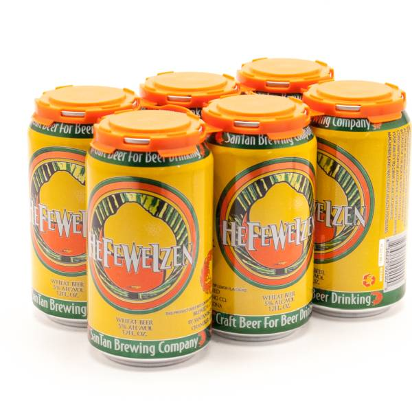 SanTan Brewing Company - Hefeweizen Wheat Beer - 12oz Can - 6 Pack