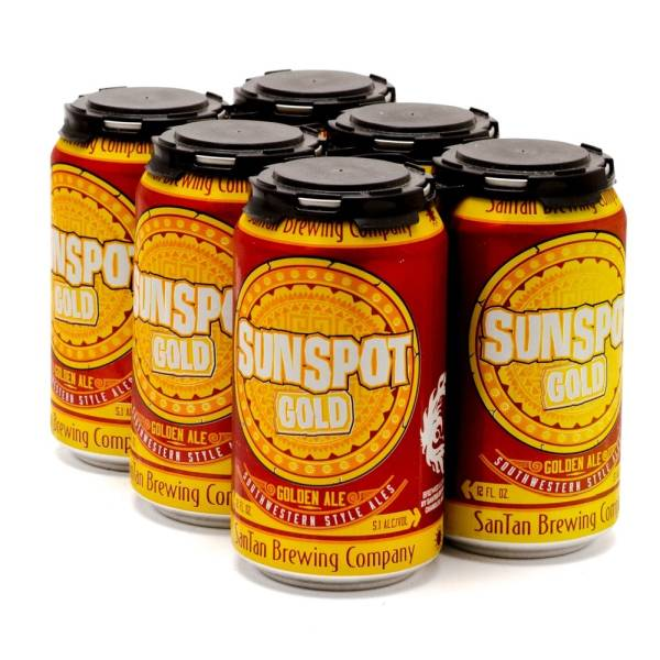 SanTan Brewing Company - Sunspot Gold Ale - 12oz Can - 6 Pack