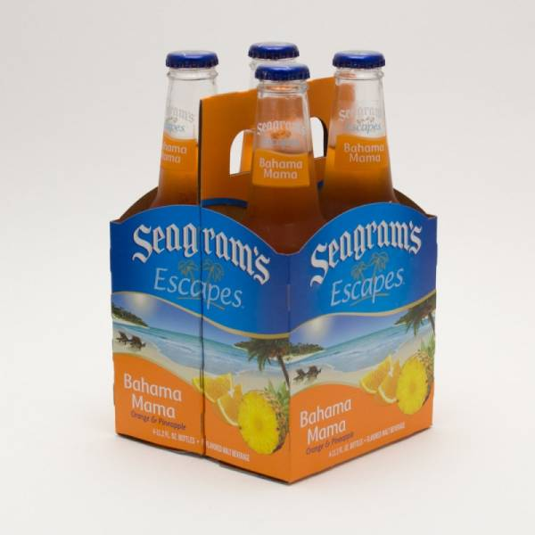 Seagram's -  Escapes - Bahama Mama - 11.2oz Bottle - 4 Pack