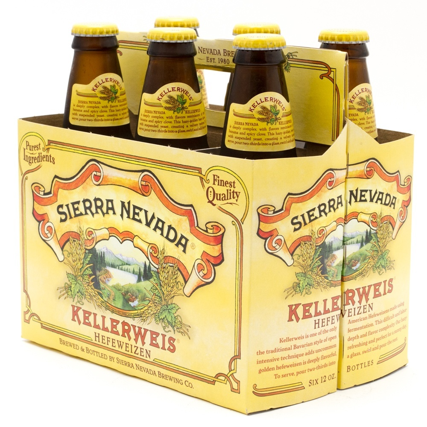 Sierra Nevada - Kellerweis Hefeweizen - 12oz Bottles - 6 pack