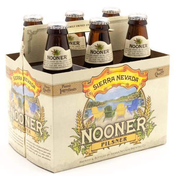 Sierra Nevada - Nooner Pilsner - 12oz Bottle - 6 Pack
