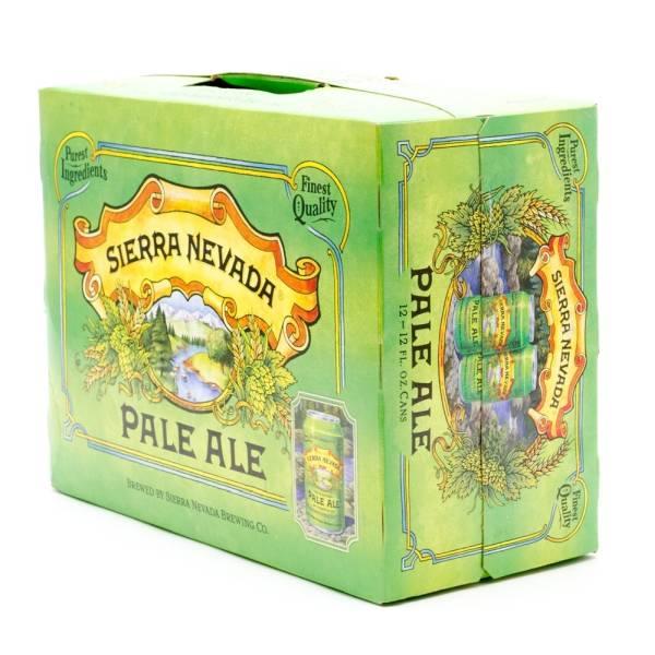 Sierra Nevada - Pale Ale - 12oz Can - 12 Pack