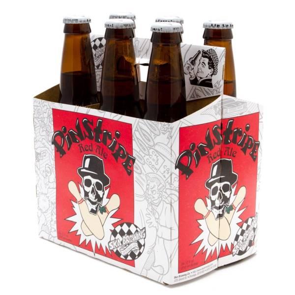 Ska - Pinstripe Red Ale - 12oz Bottle - 6 Pack