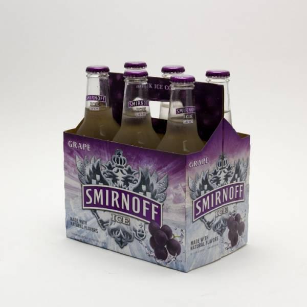 Smirnoff Ice - Grape - 11.2oz Bottle - 6 Pack