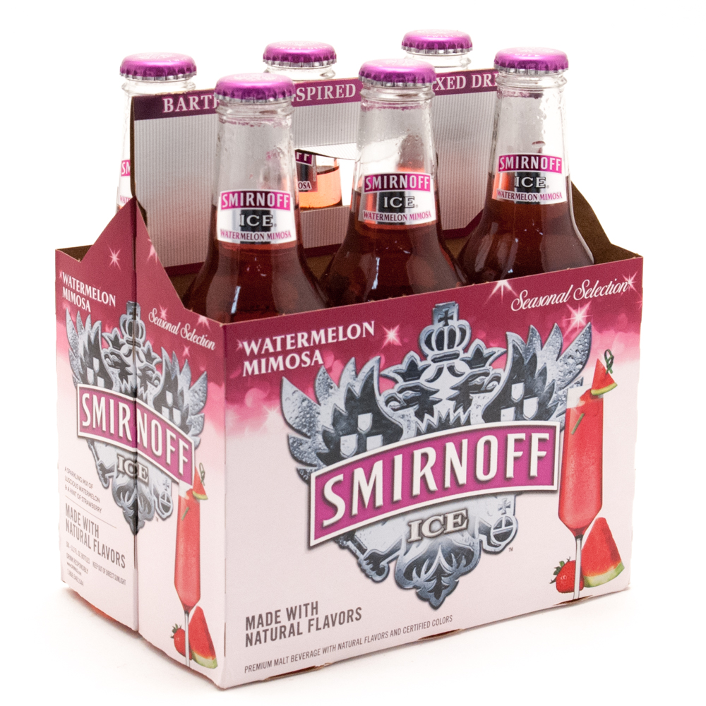 Smirnoff Ice - Watermelon Mimosa - 11.2oz Bottle - 6 Pack