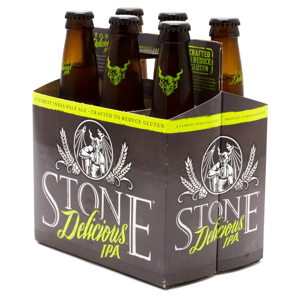 Stone Brewing Co - Delicious IPA - 12oz Bottles - 6 pack