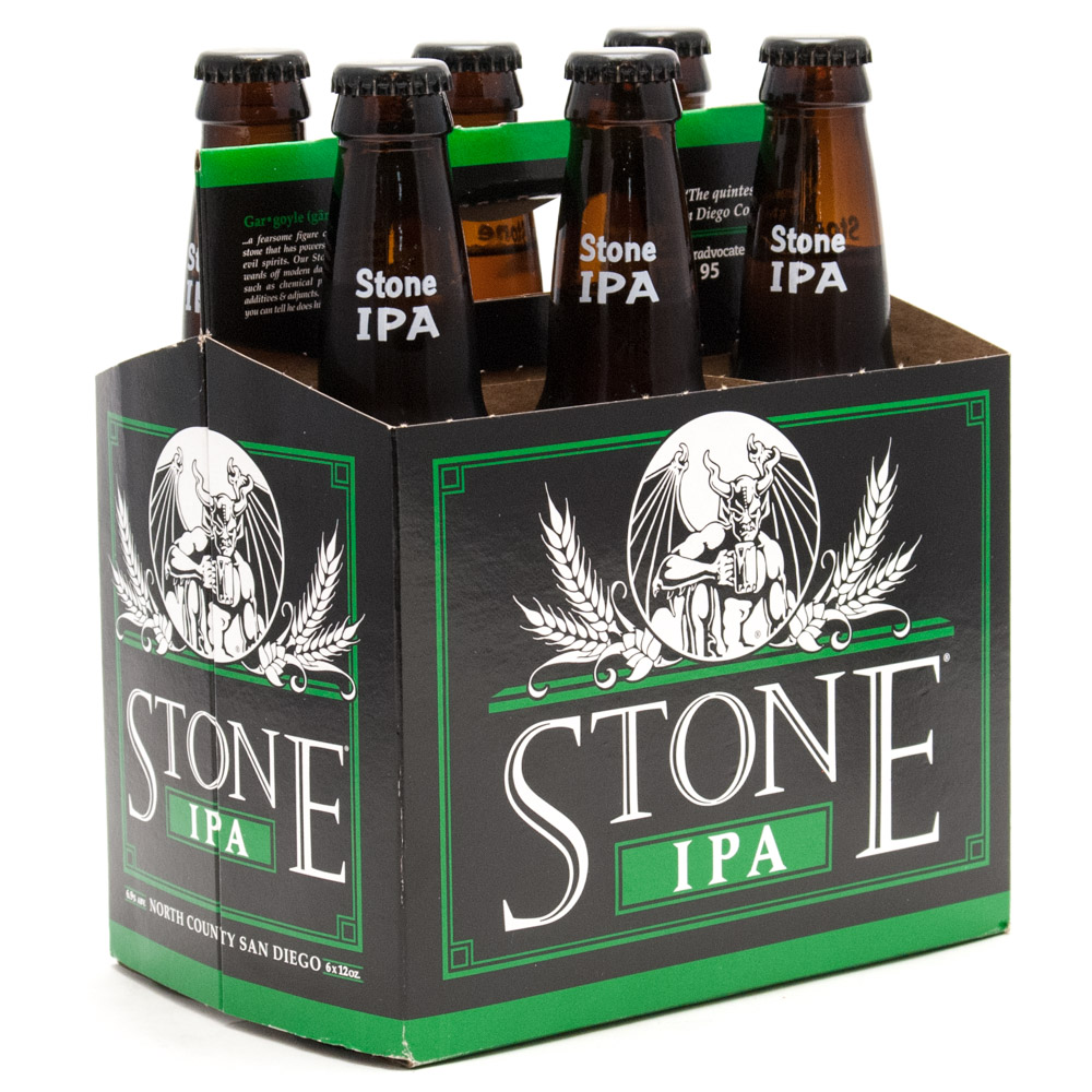 Stone Brewing Co - IPA - 12oz Bottle - 6 Pack