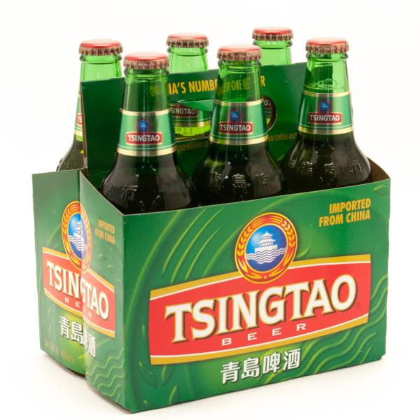 Tsingtao - Imported Beer - 12oz Bottle - 6 Pack