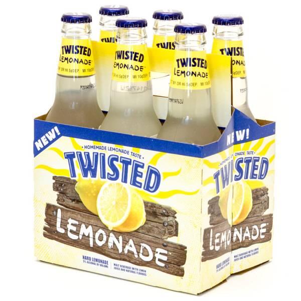 Twisted Lemonade - Hard Lemonade - 12oz Bottle - 6 Pack