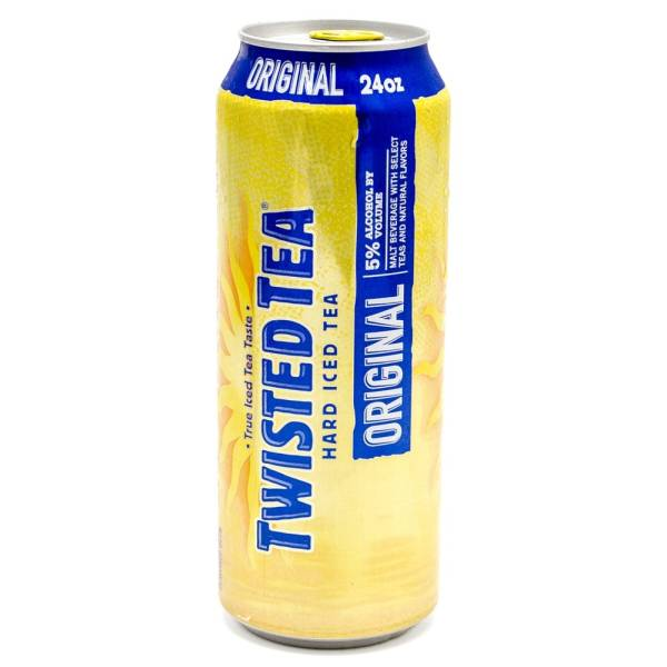 Twisted Tea - Hard Iced Tea Original - 24oz Can | Beer ...