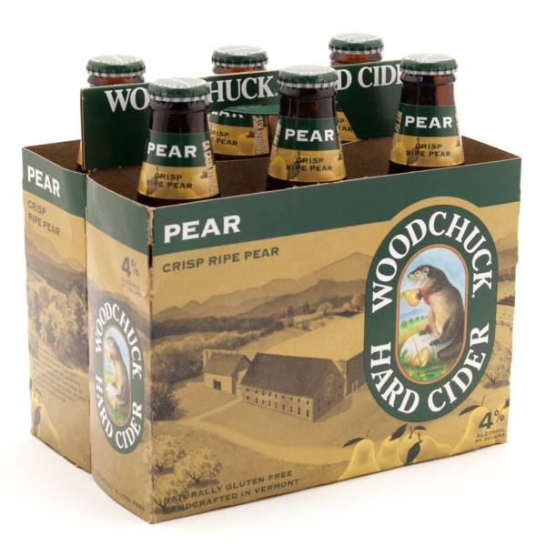 Woodchuck - Crisp Ripe Pear Hard Cider - 12oz Bottles - 6 pack
