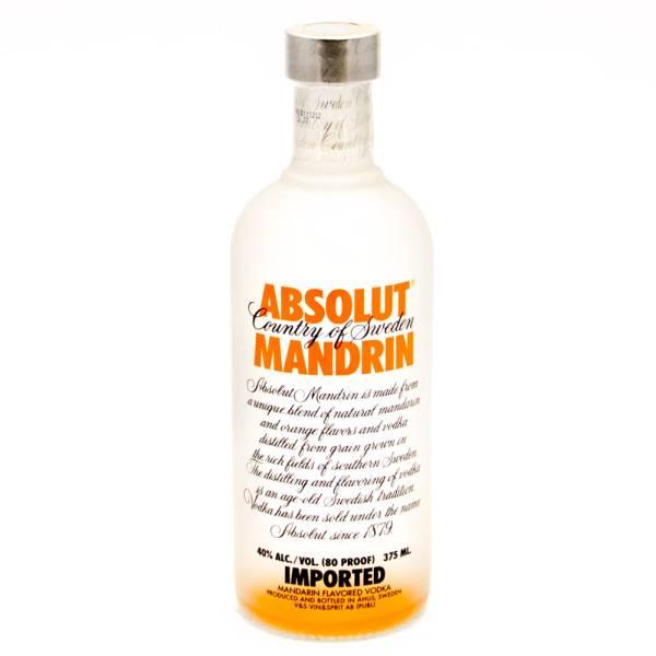 Absolut - Mandrin Vodka - 375ml
