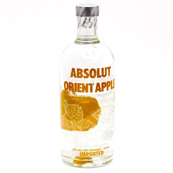 Absolut - Orient Apple Vodka - 750ml